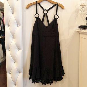Dkny black summer halter dress